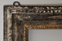 Water and oil gilded frame. XVIII century. Ireland. Style: British straight Loius XV. State before conservation.